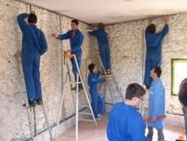 ремонт стен помещений Липецк