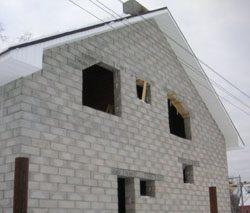 Качественный и недорогой дом из пеноблоков, кирпича, бруса в городе Липецк, можно заказать в нашей компании профессиональных строителей СтройСервисНК